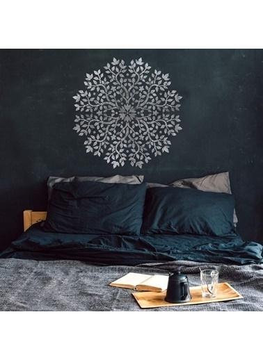 Artikel Mandala - 4 Stencil Tasarımı 30 x 30 cm Renkli